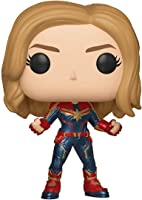 Funko Pop! Marvel: Captain Marvel - Captain Marvel (Styles May Vary)