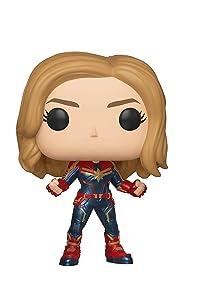 Funko Pop! Marvel: Captain Marvel (Styles May Vary) Toy, Multicolor