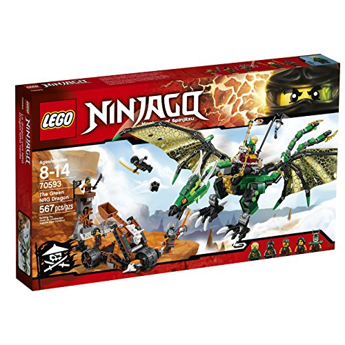 LEGO Ninjago 70593 The Green NRG Dragon Building Kit (567 Piece)