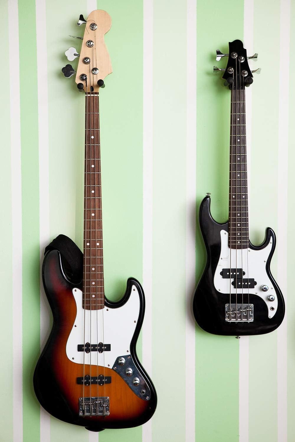 Soporte de montaje en pared para guitarra Ohuhu, Pack de 4 ...