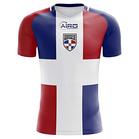 bb117b360 Image Unavailable. Image not available for. Color  Airo Sportswear 2018-2019  Dominican Republic Home Concept Football ...
