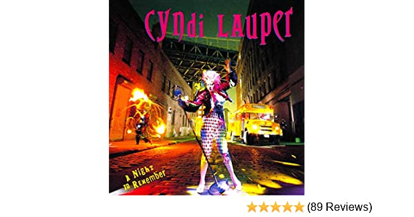 Night To Remember By Lauper Cyndi 1989 Amazon Com Music