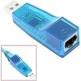 Adaptador RJ45 Macho a USB Hembra Conversor Convertidor de