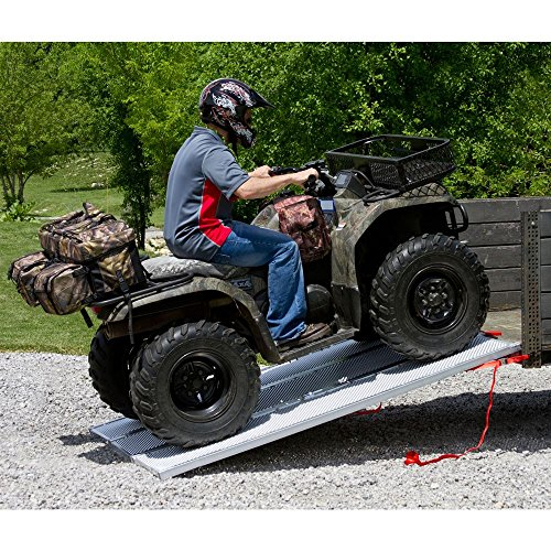 94x54 Solid Surface Tri-Fold ATV Pickup Truck Ramp by Black Widow (Image #3)