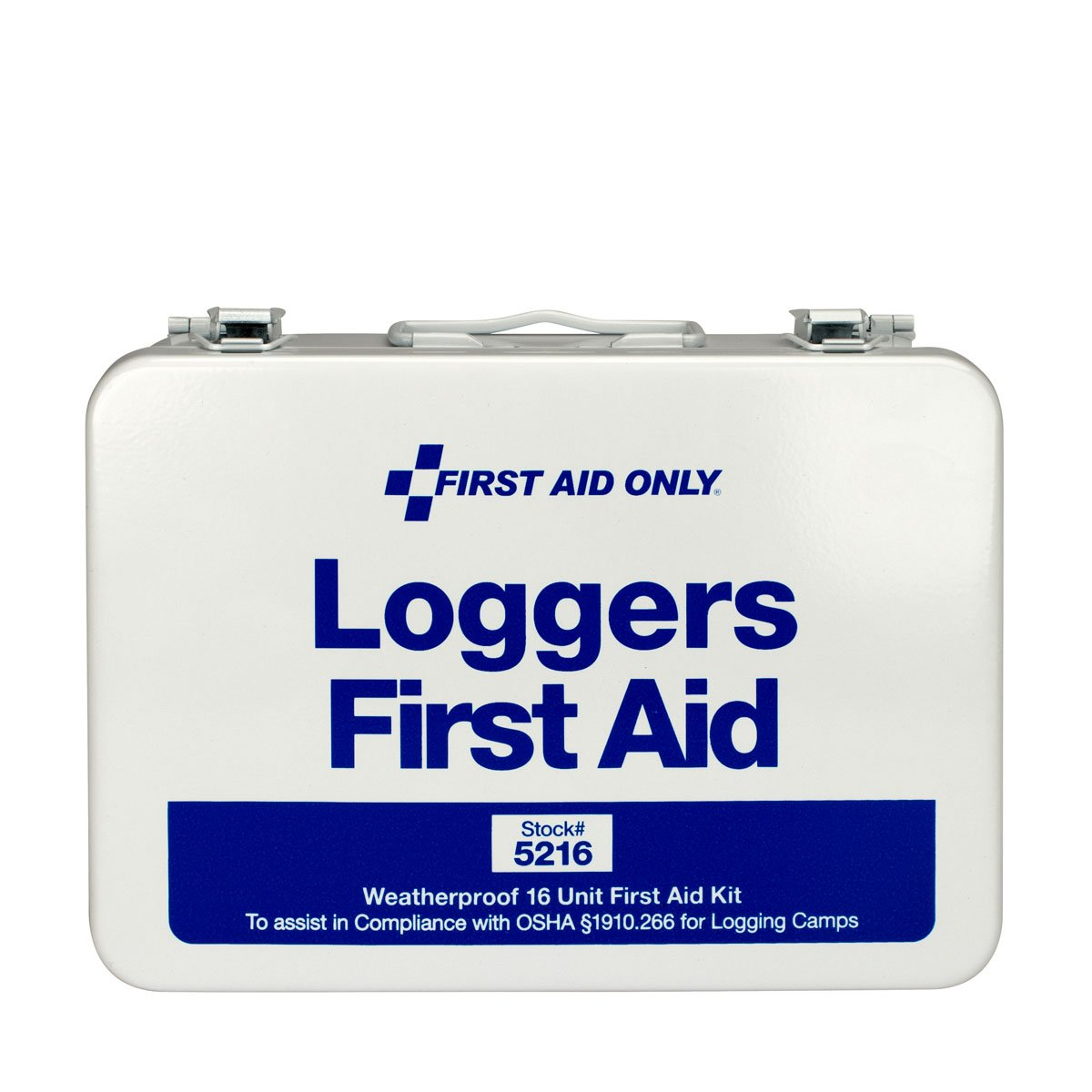 Pac-Kit by First Aid Only 5216 68 Piece Logger's First Aid Kit with Weatherproof Steel Case