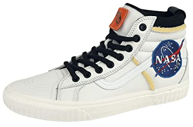 8be5121388 Vans Sk8-Hi 46 MTE DX NASA Space Voyager Sneakers White EU44  Amazon ...