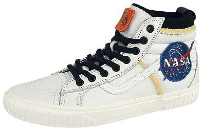 573a971f13d9a3 Vans Sk8-Hi 46 MTE DX NASA Space Voyager Sneakers White EU44  Amazon ...