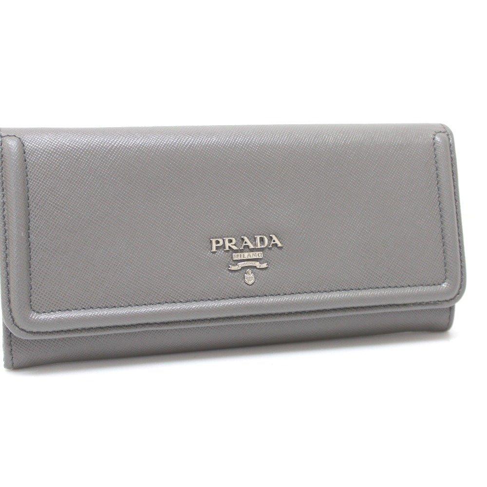 (プラダ) PRADA 1M1132 サフィアーノ 2つ折り長財布 長財布(小銭入れあり) レザー ユニセックス 中古 B075DV333L