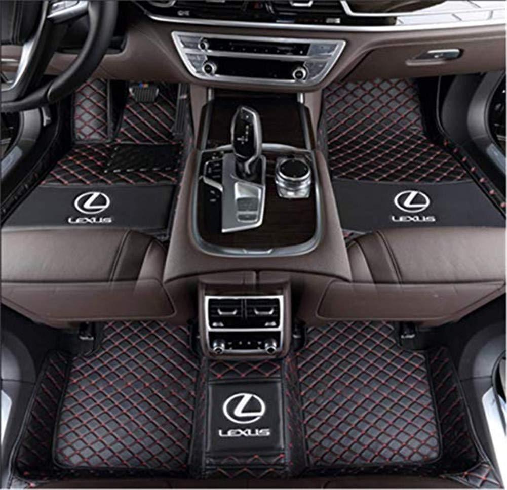 Car Floor Mats for Lexus ES300h ES350 2013-2016 Custom-Fit All Weather 3D Carpet