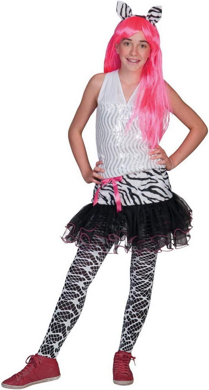Halloween enia – Disfraz de Cebra para niña con Falda de tutú y ...