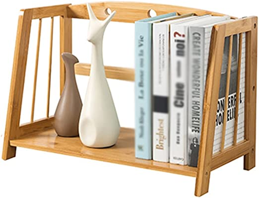 LLRDIAN Carpeta del Libro del cajón - Caja de Almacenamiento de Escritorio Estante de Madera sólida Caja del Soporte de Libro del Estudiante Estantería de Mesa fácil (Size : 43×22×28cm): Amazon.es: Hogar