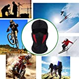Balaclava Ski Mask, Windproof Face Mask, Motorcycle Face Mask for Men/Women, Thin Breathable Perfect Mask for Motorcycling, Snowboarding, Hiking