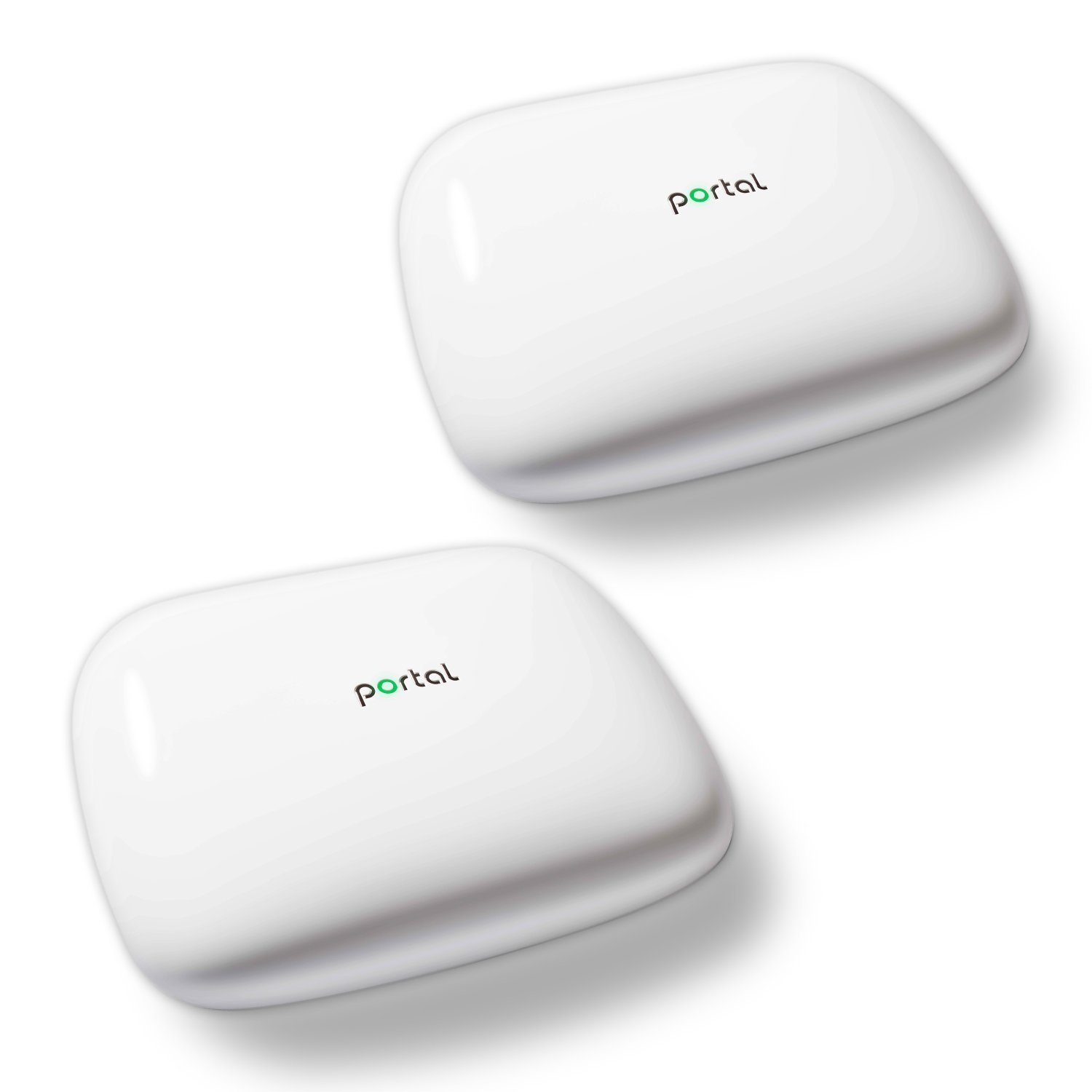 Portal mesh wifi system (2-pack) - Reliable and affordable coverage for homes up to 6,000 sq. ft., Replaces your wireless router and range extender, Gigabit speed, Easy setup and app (AC2400)