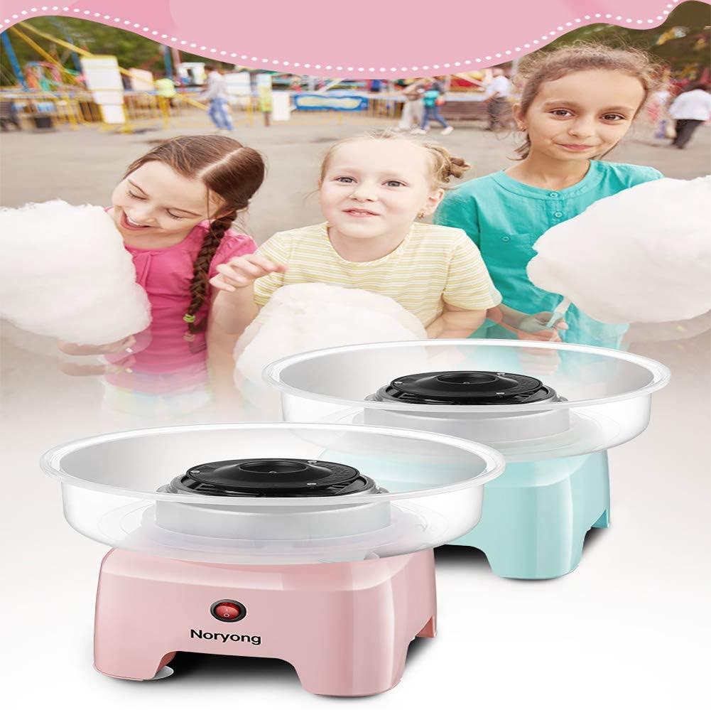 LKSIING Máquina de Algodón de Azúcar Cotton Candy Machine Sweet Dreams Acero Inoxidable Usar Azúcar Regular de Caramelo Duro Sin Azúcar 19.5 * 19.5 * 22cm,Rosado: Amazon.es: Deportes y aire libre