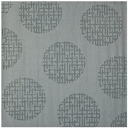 (Safavieh Impressions Collection IM507A Handmade Grey Premium Wool Square Area Rug (6' Square))