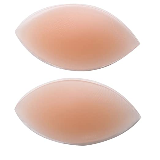 dfaaa859e Image Unavailable. Image not available for. Color  Boolavard (A Dumplings) Silicone  Breast Enhancers Chicken Fillets Bra Insert ...