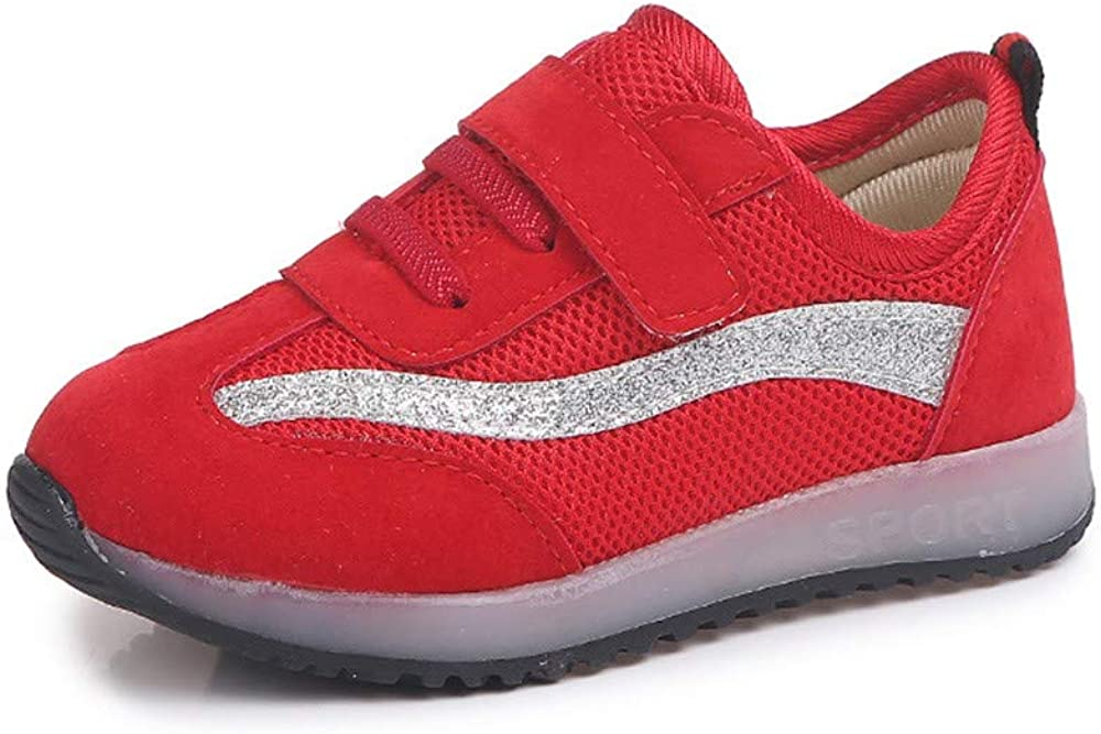 Londony /♥‿/♥ Kids Toddler LED Light Up Shoes Casual Sneakers for Unisex Girls Boys 0-6 Years