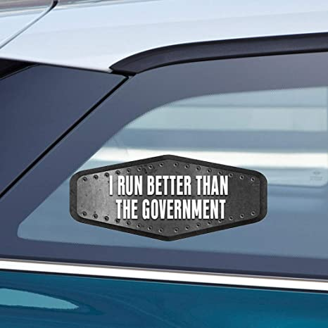 Amazon.com: Makoroni - I RUN BETTER THAN THE GOVERNMENT ...