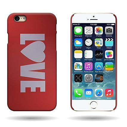 Amazon.com: iPhone 6S Carcasa rígida, coveron® Apple iPhone ...