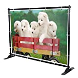 Professional Large Tube 8x10 Backdrop Telescopic Banner Stand Adjustable