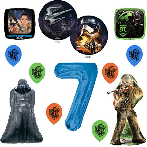 Star Wars Ultimate 7th Birthday Party Supply Balloon Decoration Set