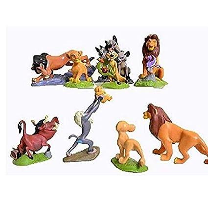 Amazon.com: EWendingstanly Juego de 9 figuras de los leones ...