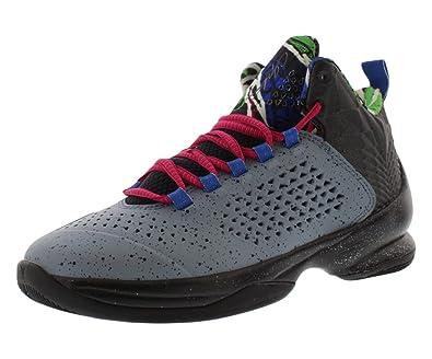 564c9c683e2c  716598-413  AIR Jordan MELO M11 Grade School Sneakers AIR JORDANBL Grpht  Mtllc