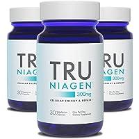 TRU NIAGEN NAD+ Booster for Cellular Repair & Energy Metabolism (Nicotinamide Riboside) - 300mg Vegetarian Capsules…