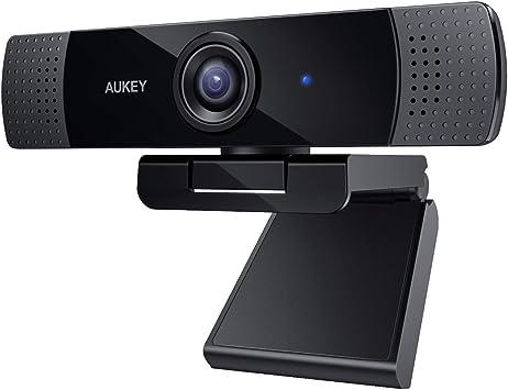 AUKEY Webcam 1080p Full HD con Microfono Stereo, per Video Chat e  Registrazione, Compatibile con Windows, Mac e Android: Amazon.it:  Elettronica