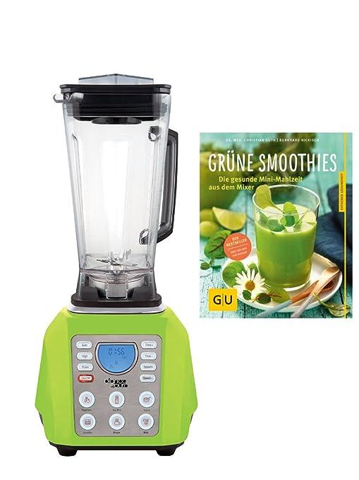 BIANCO Licuadora con libro de recetas verde: Amazon.es: Hogar