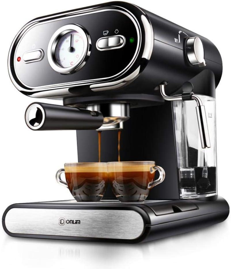 DL -KF5002 - Cafetera italiana (visión automática en casa, regulación de la temperatura completa, 20 bar, botón de encendido), color negro: Amazon.es: Hogar