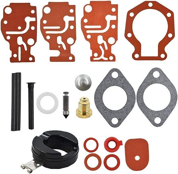 Rebuild Kits Carburetor Carb Repair Rebuild Kit Fits for Johnson ...