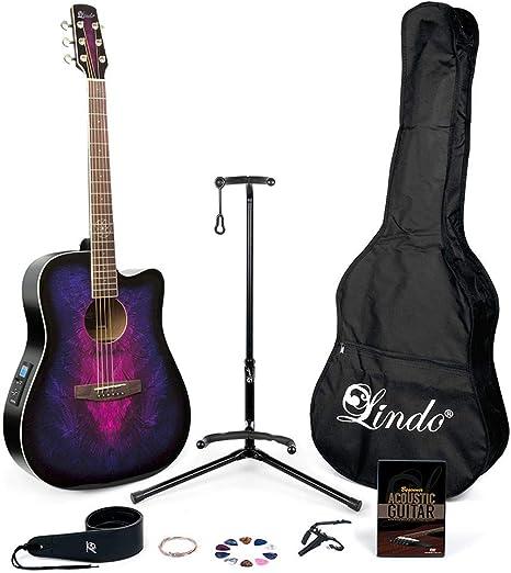 Lindo Guitars – Guitarra electroacústica (preamplificador en ...