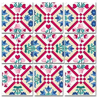 B.Dazzle Scramble Squares: Quilt: Toys & Games