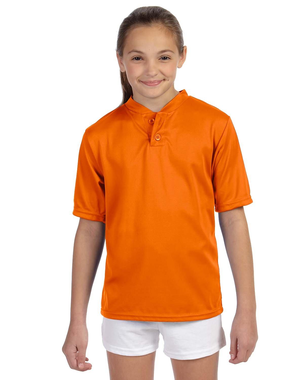 Augusta Sportswear SHIRT ボーイズ B00BN4D658 S|オレンジ オレンジ S