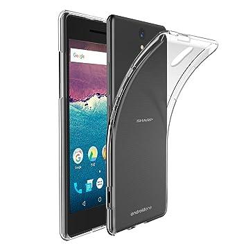 54e25b5e35 Amazon | Hy+ Android One S1(アンドロイド ワン S1) ケース TPU 透明 ...