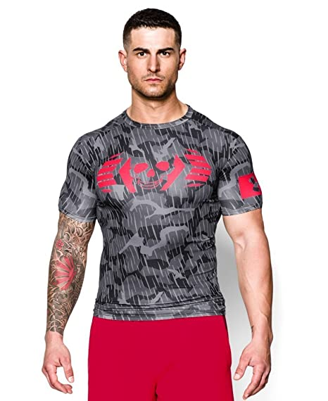 Image Unavailable. Image not available for. Color  Under Armour Men s UA  Combine Training Skull Bolt Compression T-Shirt ... a2d2f241c