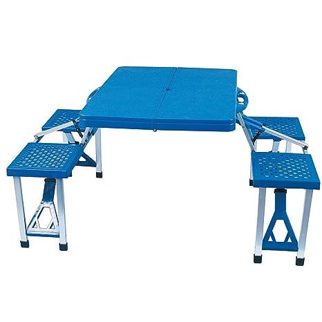 ensemble table et chaise camping pliable