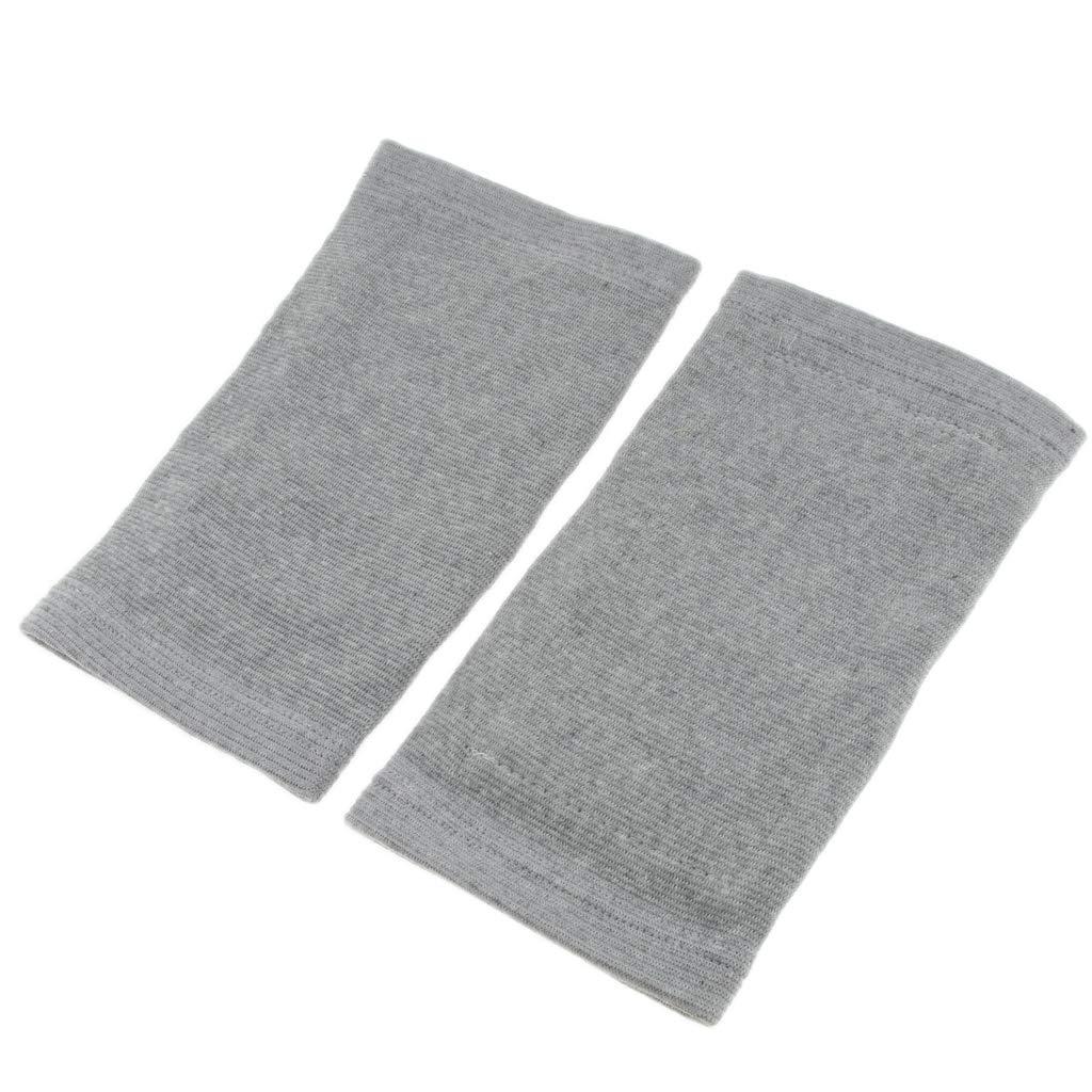 Grau L 27 cm IPOTCH 1 Paar Kniew/ärmer Ellenbogenw/ärmer Knee Warmer Alltag Unterst/ützung und Winter W/ärmeschutz