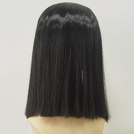 Amazon.com : Egypt Queen Peluca Cosplay Larga Trenza De Pelo Egipto Reina Cleopatra Peinado Flequillo Limpias Sintético Negro Peluca Cosplay Wig : Beauty