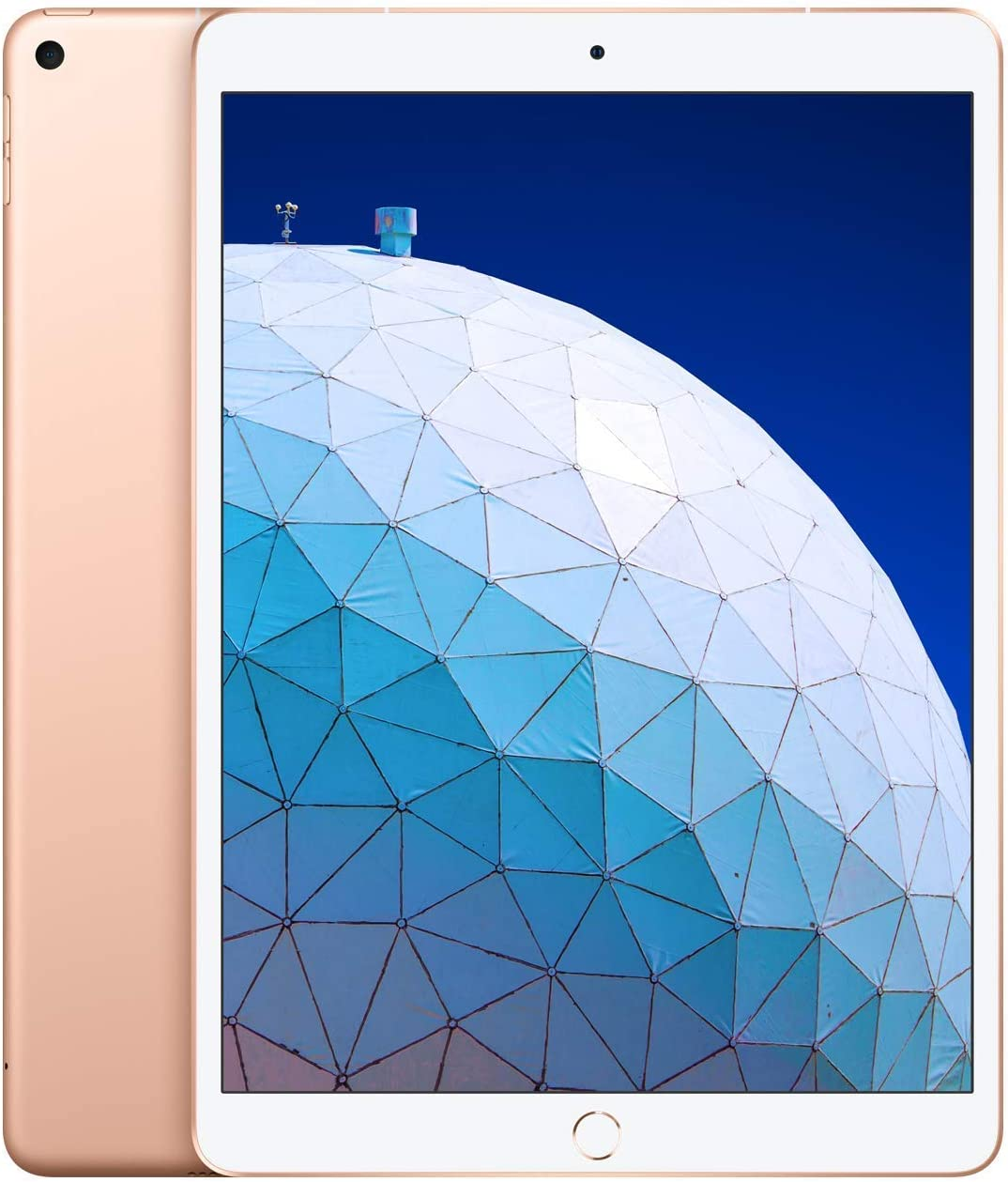 Apple iPadAir (10.5-inch, Wi-Fi + Cellular, 256GB) - Gold (Latest Model) (Renewed)