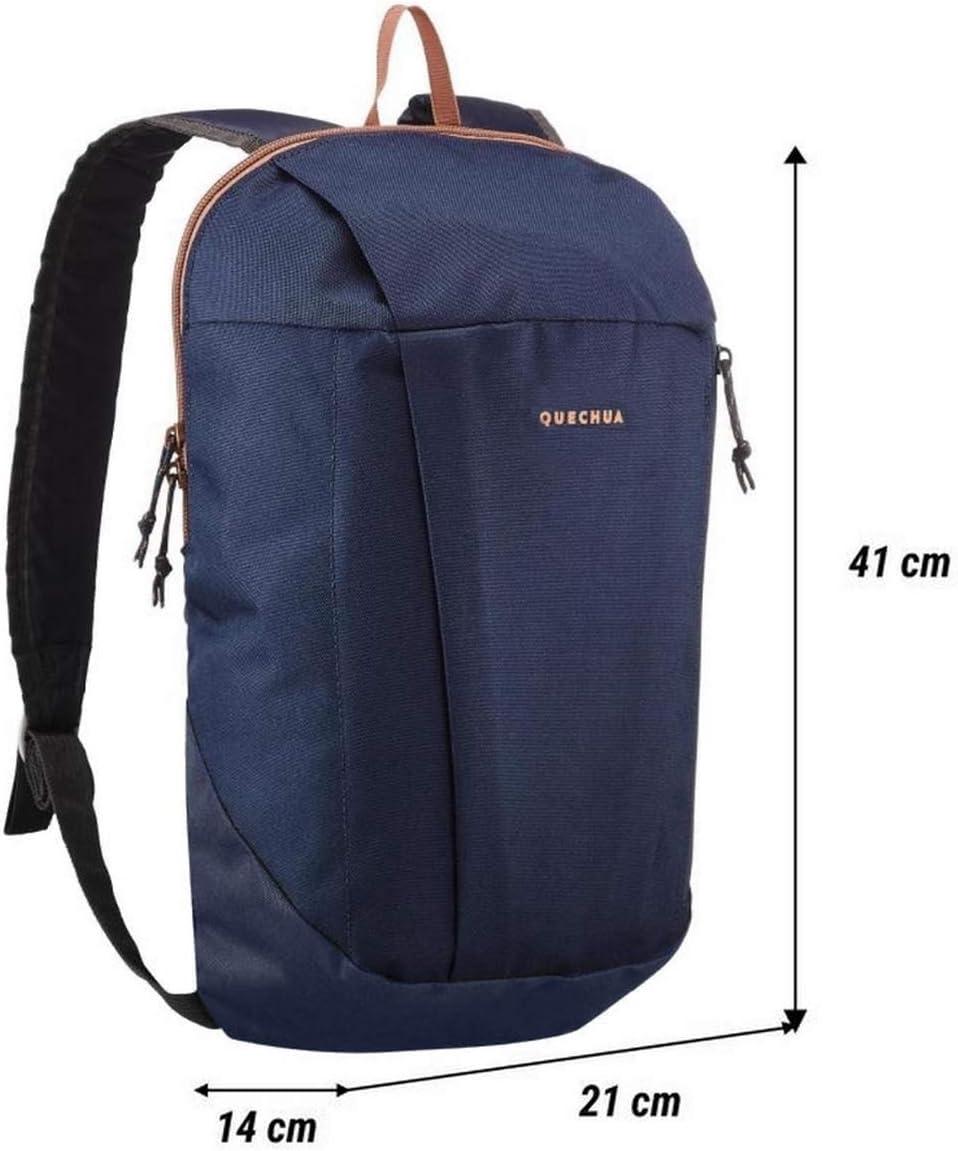 blue 10 litres. Blue Quechua NH100 hiking rucksack - YUIT
