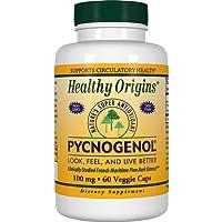 Healthy Origins, Pycnogenol, 100mg, 60 Veg. Kapseln