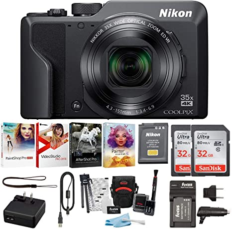 Amazon.com : Nikon COOLPIX A1000 Compact Digital Camera 4K ...