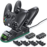 Controller Charger for Xbox Series & One S/X/Elite Controller, OIVO Xbox One Controller Charging Station with 2 Packs…