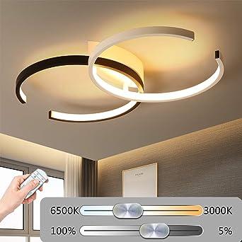 LED Moderne Dimmable Schlafzimmer Deckenlampe, Kreative ...