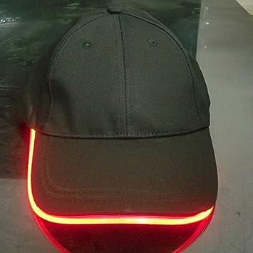 Namsan - Gorra con luz LED para caballero, de béisbol, rojo ...