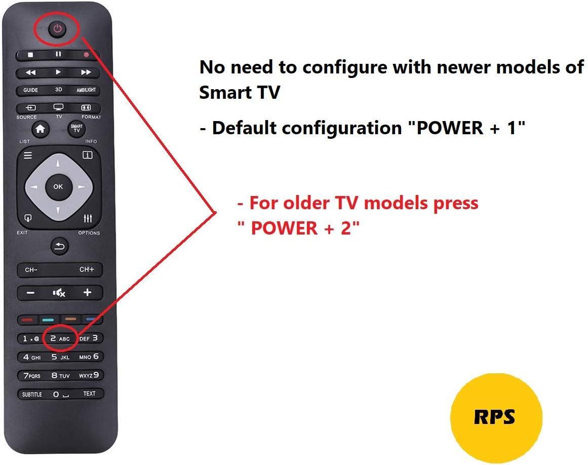 RPS Ersatz-Universalfernbedienung f/ür alle TV-Modelle LG