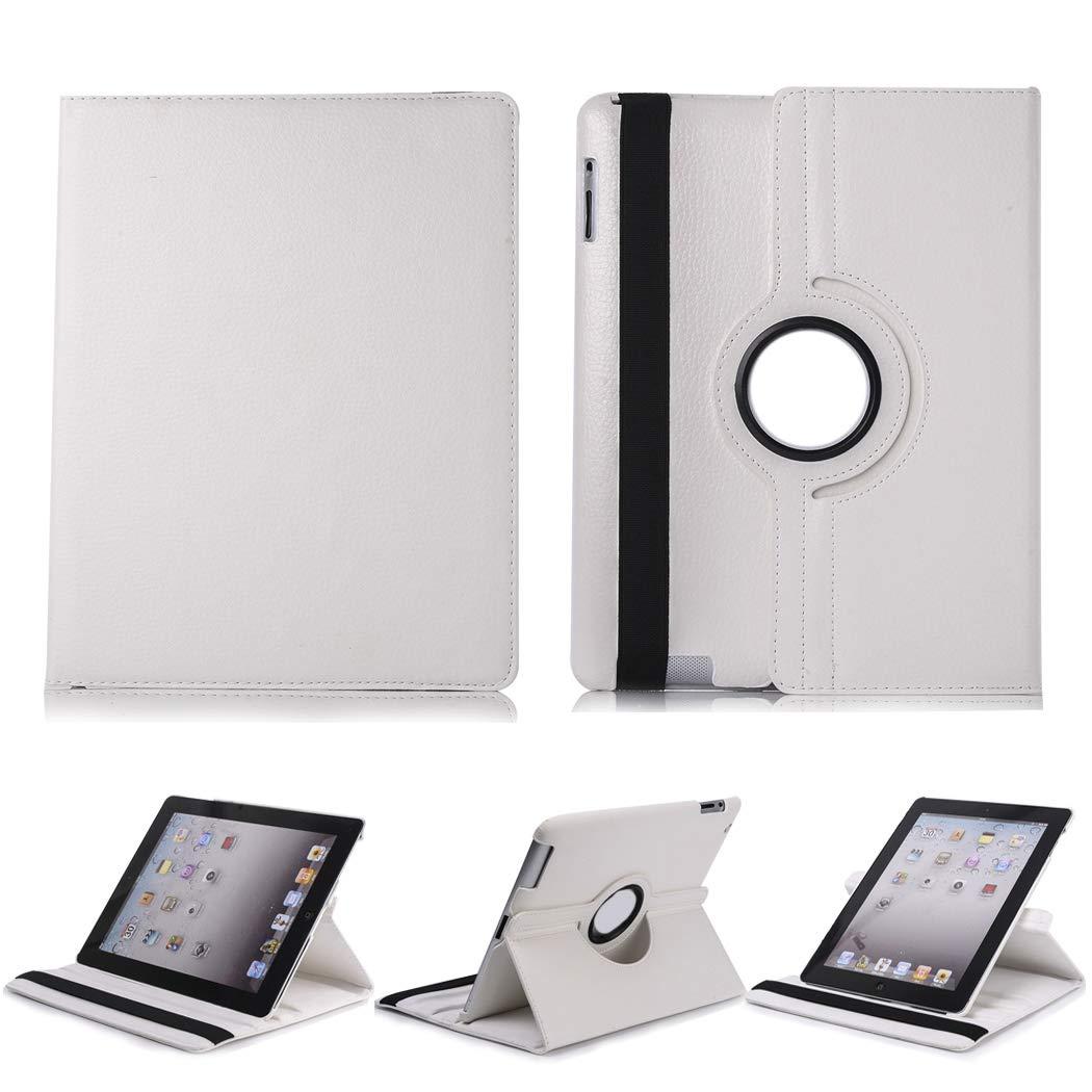 2019年新作入荷 360度回転スタンド保護カバー オートスリープウェイク付き iPad Apple iPad Mini 4用 A1538 A1538/ 4用/ A1550 ホワイト B07K5WP7DD, 東京レッドチェリー:1918fac2 --- kiddyfox.in