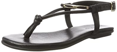 Inuovo Damen Sandalen, Schwarz - Schwarz - Größe: 37 EU